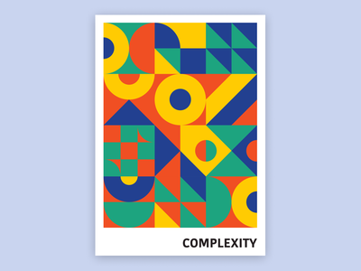 Complexity, poster design adobe illustrator poster a day posters design design posters poster design poster graphic design graphicdesign