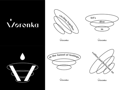 Voronka, brand identity branding design brand brand identity brand design branding adobe illustrator graphic design graphicdesign