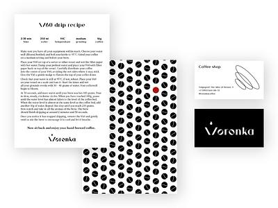 Voronka brand identity, print formats branding design brand identity brand design brand branding adobe illustrator design graphic design graphicdesign