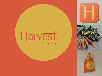 Harvest delivery, brand identity branding design brand brand identity brand design branding adobe illustrator design graphic design graphicdesign