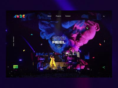 4U2C - Cirque du Soleil ui web design art direction