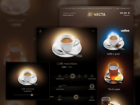 Cofee touch interface
