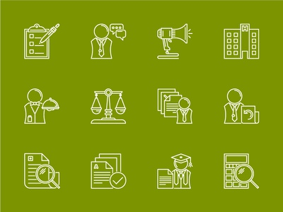 Process Icons medical billing illustration icon design