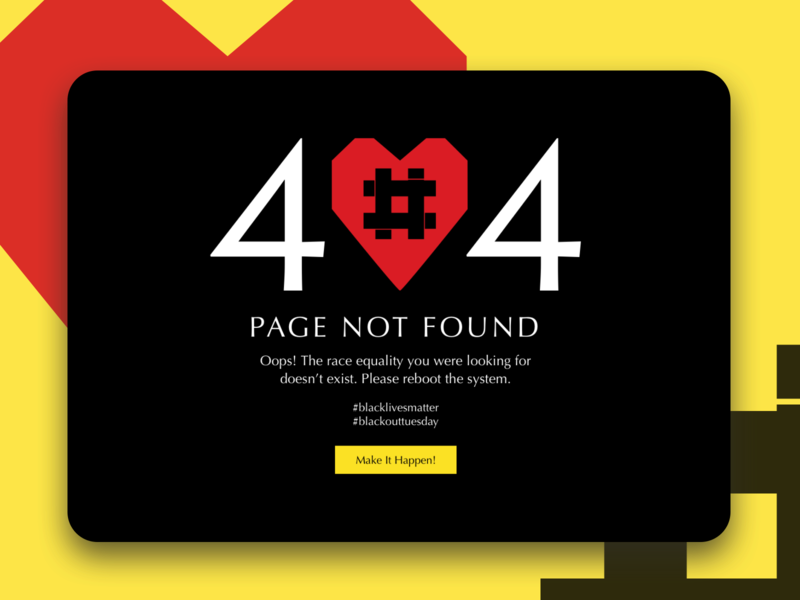 404 page. DailyUI #008 challenge challenge dailyui creativity design