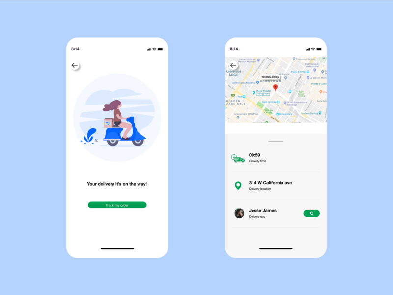 Daily UI 020 | Location Tracker location tracker 020 ui daily ui design daily 100 challenge