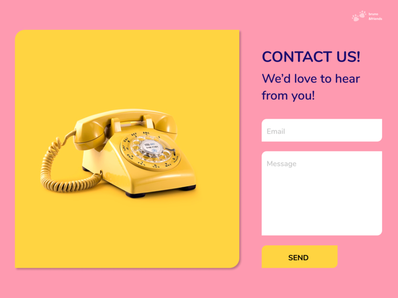 Daily UI 028 | Contact form contact form figma 028 ui dailyui daily ui daily 100 challenge design