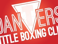 Danvers Title Boxing - Shirt Logo Design