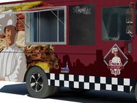 Evan's Deli - Food Truck Design