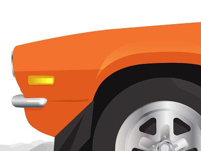 1972 Camaro Illustration classic illustration hotrod cars