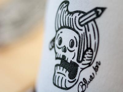 Blue Ion Trucker Hats! illustration skull adobe white black tattoo trucker hat