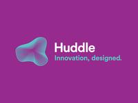 Huddle identity logo & tagline
