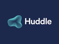 Huddle logomark & logotype