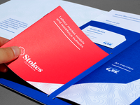 Stokes Economics - boolet, leaflet, cards and sheets