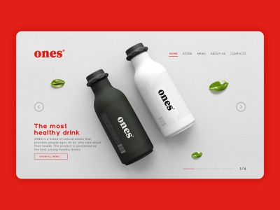 Ones website fresh website ux ui logotype brand minimal logo design branding