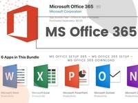 MS Office Setup 365 – MS Office 365 setup – MS Office 365 downlo