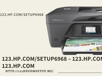 123.hp.com/setup6968 – 123.hp.com/setup | 123.Hp.Com