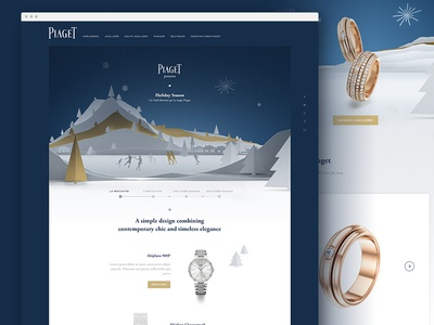 Piaget gift selection ux ui piaget swiss christmas watch jewellery gift luxurious