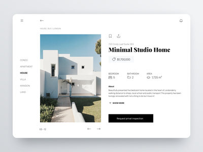 Real Estate App Concept tablet agency architecture modern design ui pczohtas ipad property minimal app dribbble best shot real estate branding real estate agency home real estate