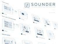 Sounder - Wireframe