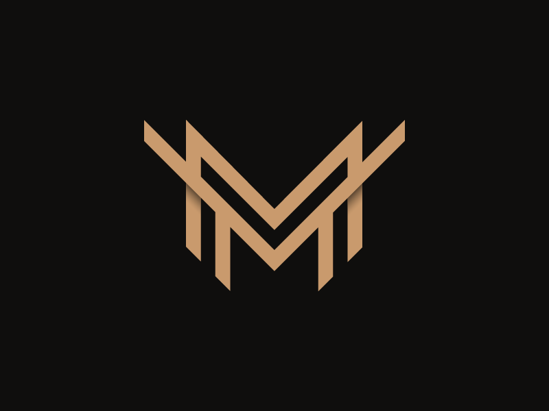 Mm logo monogram pczohtas 2018