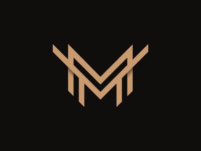 MM Logo panczel otto mm monogram mm logo panczel ohtas pczohtas premium letter monogram design logo