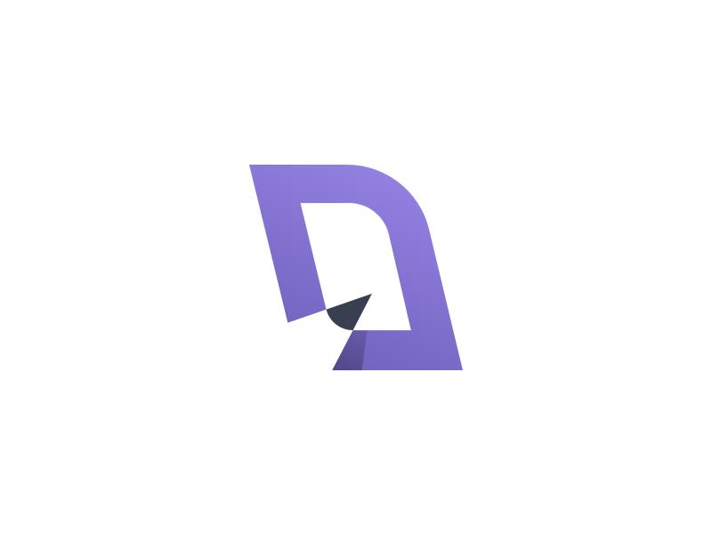 D for Design logo mark d logo d mark logo desing pencil pczohtas logo design