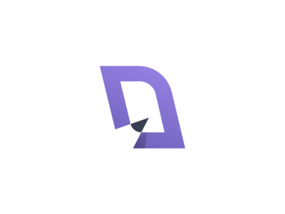 D for Design logo mark d logo d mark logo desing pencil pczohtas logo design
