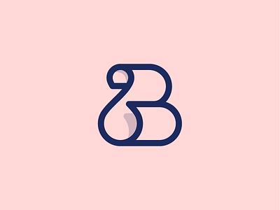 B + Paper Sheet branding logo pánczél otto b and paper sheet sheet minimal pczohtas letter mark paper roll parchment paper b mark b logo