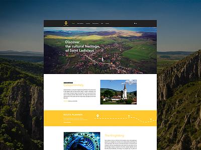 Knightking - website design layout webdesign interface ux ui website