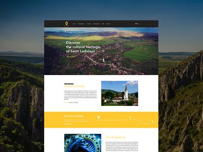 Knightking - website design