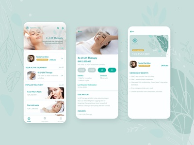 Beauty Clinic Membership App