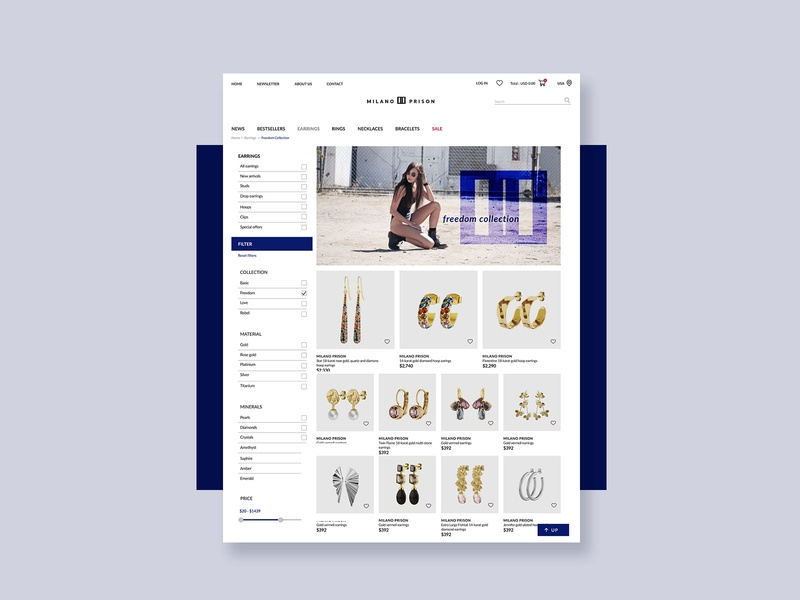 Fashion Store website