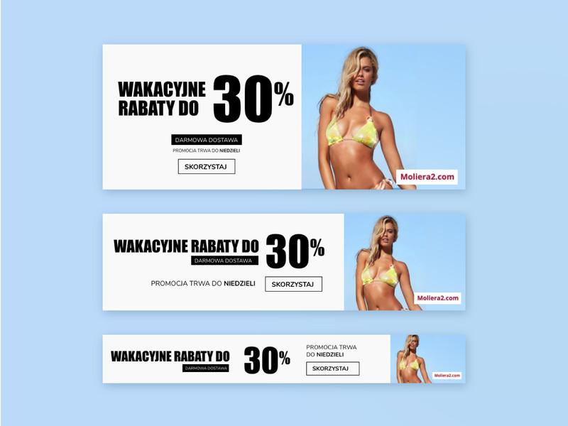 BANNERS responsive design rwd sale banner banner design ecommerce shop typography website ux web design web ui ui design