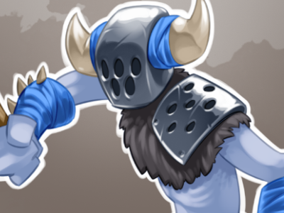 Horned game godsrule gogogic drawing texture helmet fighter unit comic cartoon horns