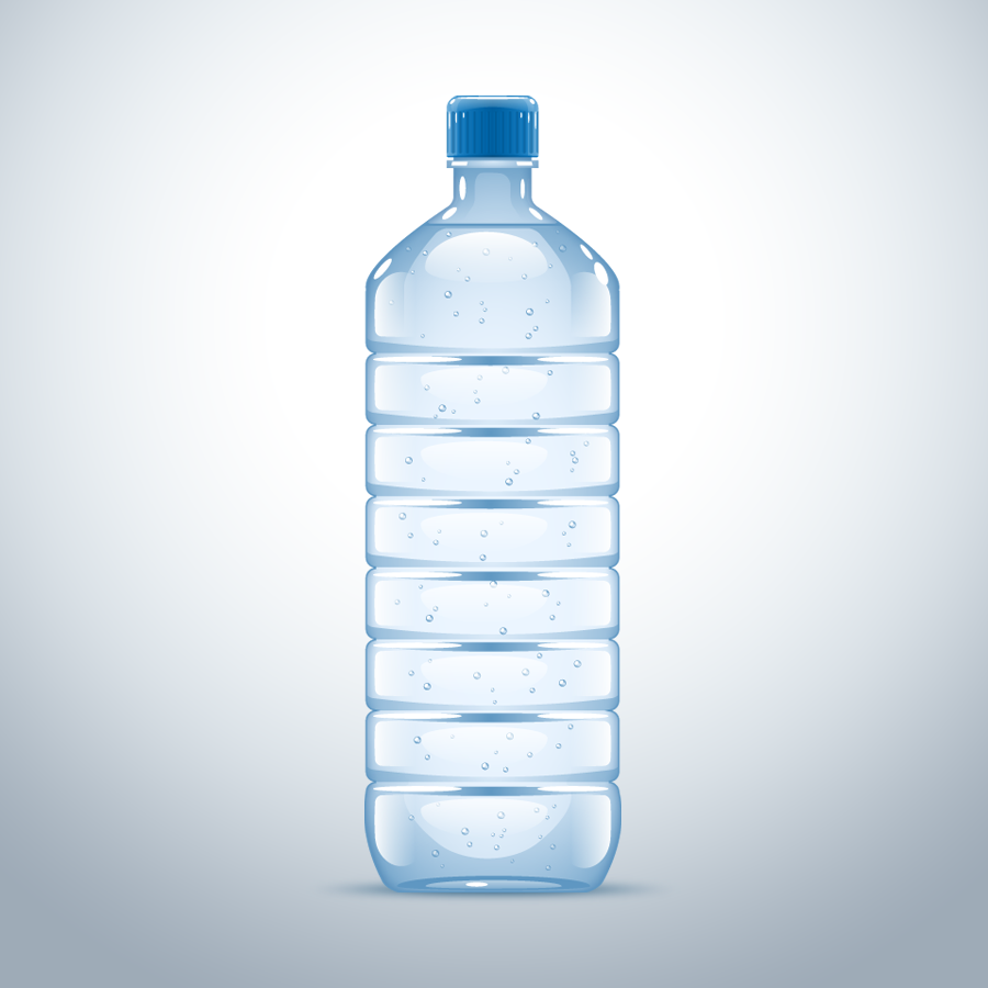 Water Bottle Vector: Water-XL.png By DÓRI