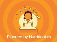Planned by Nutritionist
