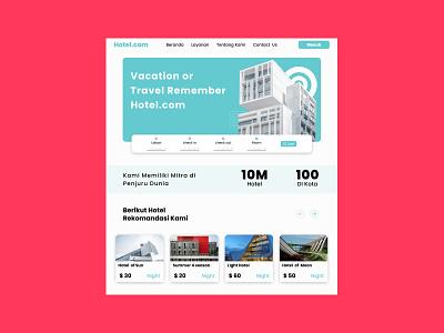 Hotel.com ux ui hotel
