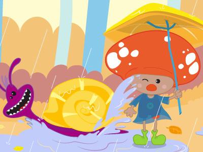 Mash&Co Autumn edutainment mashandco crabtoon mash periwinkle animation app children toddlers
