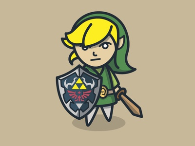 A Link With A Sheild