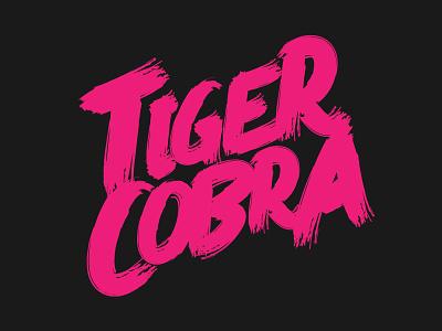 TigerCobra Logo metal band vector tiger cobra tigercobra stickermule