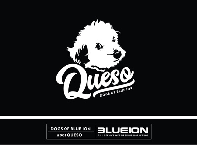Dogs Of Blue ion blue ion vector adobe logo black illustraion dog