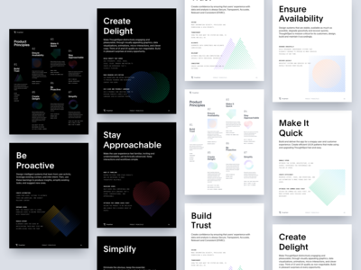 Product Principles Posters brand artificial intelligence design data a.i. design principles posters