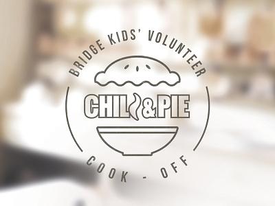 Chili & Pie Cook Off chili pie logo branding kitchen food church