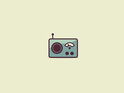 Radio Icon radio icon vector