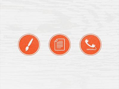 Web Icon Set icons web subtle pattern wood