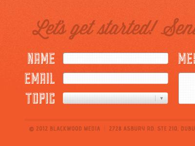 Web Form web form subtle texture