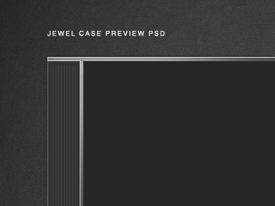 Cd jewel case mockup psd by aaron harlow dribbble for Cd sleeve template photoshop