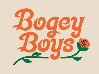 Bogey Boys Lettering golf lettering type
