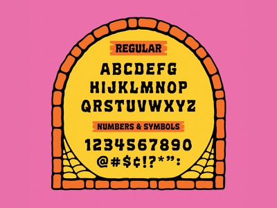 Wax Museum Font spooky typography type font