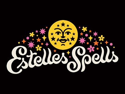 Estelles Spells magic design logo lettering